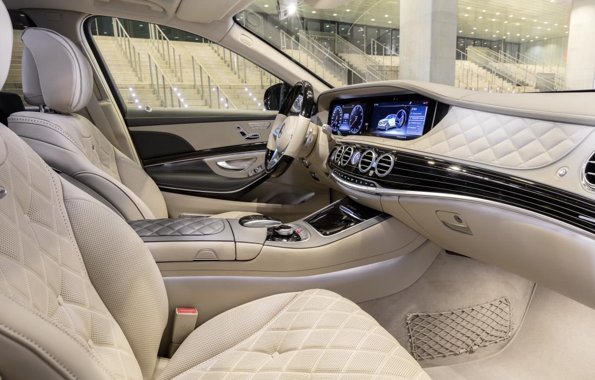 Аренда Mercedes S-class под такси