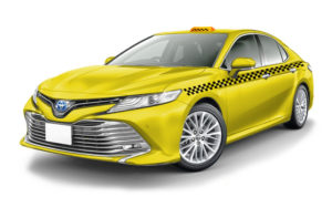 Арендовать Toyota Camry для работы в такси
