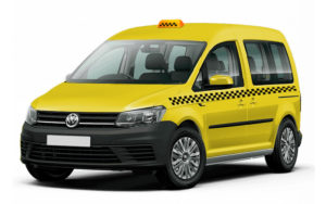 Volkswagen Caddy под такси
