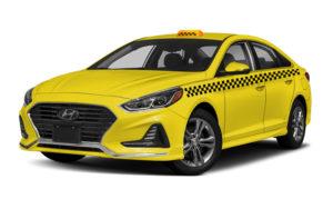 Hyundai Sonata под такси