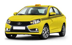 Аренда Lada VESTA 2019 под такси